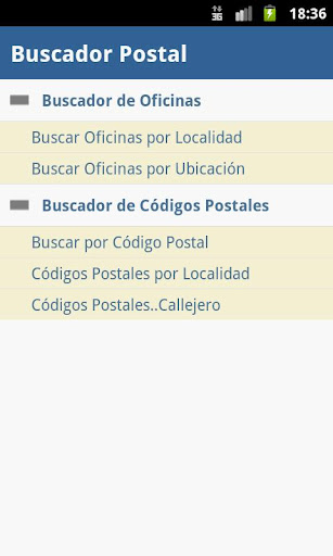 Buscador Postal Activador