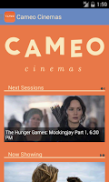 Screenshot of Cameo Cinemas