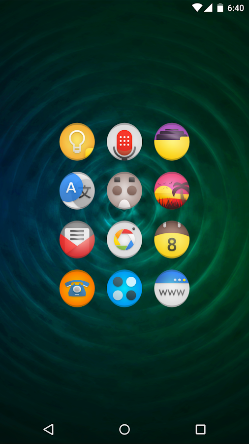 Simplo - Icon Pack Screenshot 2