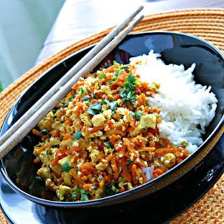 Tofu Rice Carrots Recipes