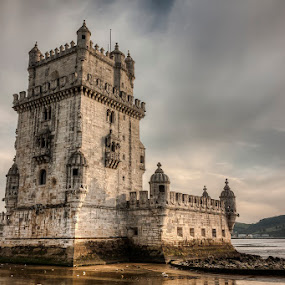 Belém Tower by Emanuel Ribeiro - Buildings & Architecture Public & Historical ( tower, belém, monument, lisbon, portugal, historic, river,  )