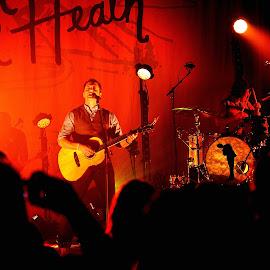 Brandon Heath by Dennis McClintock - People Musicians & Entertainers ( live performace challenge, performer, musician, entertainment, entertainer,  )