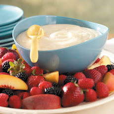 Luscious Lemon Fruit Dip