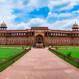 Agra Fort by Syed Waseem - Buildings & Architecture Public & Historical ( agra, india, agra fort, historical, fort,  )