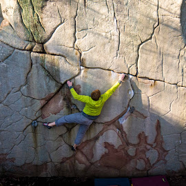LRC 1 by Climb Globe - Sports & Fitness Climbing ( climbing, rock climbing, stone fort, little rock city, lrc, bouldering )