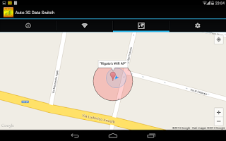 Screenshot of Auto WiFi 3G Data Switch