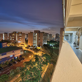 Neighborhood by Kafoor Sammil - City,  Street & Park  Neighborhoods ( pasir ris, neighborhood, singapore )