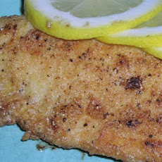Lemon Pepper Tilapia (Or Catfish)