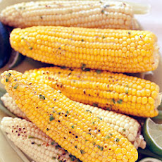 Grilled Corn on the Cob with Jalapeño-Lime Butter