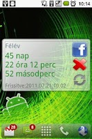 Screenshot of Countdown widget