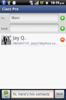 Screenshot of Ciacs Pro