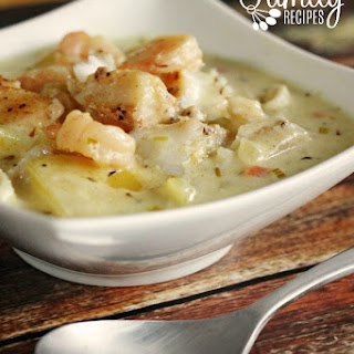 Maine Seafood Chowder Recipes