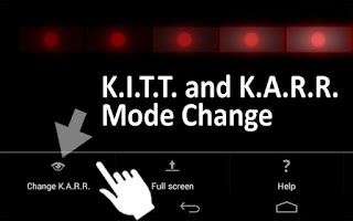 Screenshot of KITT Scanner