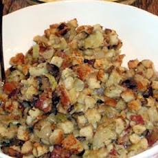Artichoke, Sausage, and Parmesan Cheese Stuffing