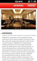 Screenshot of KoreanRestaurantGuide–ENGLAND