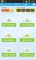 Screenshot of Soccer Betting Game Livescores