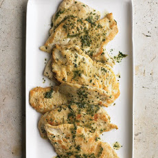 Chicken Cutlets with Herb Butter