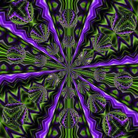 by Gene Hite - Digital Art Abstract