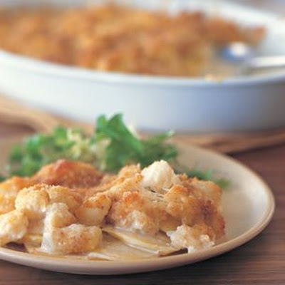 Potato-Cauliflower Gratin