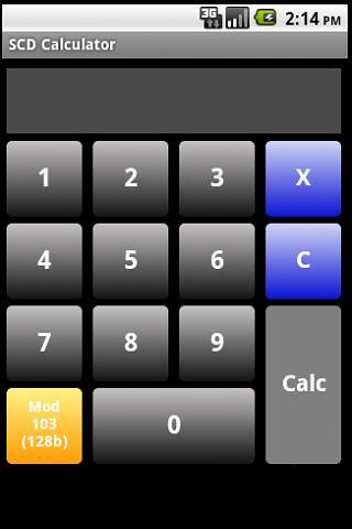 SCD Calculator