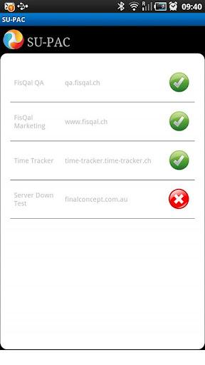 SUPAC Pingdom Client