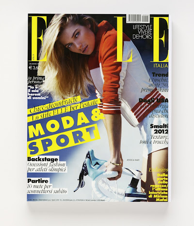 Italian ELLE – June 2012 – Cover