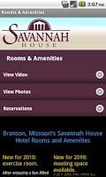 Screenshot of Savannah House