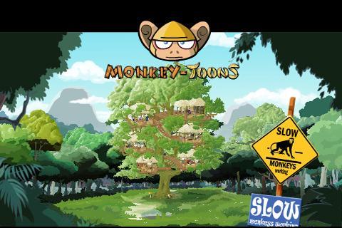 Monkey-Toons - Web App
