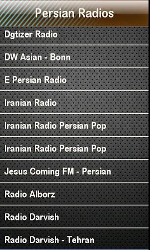 Persian Radio Persian Radios