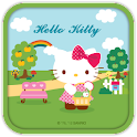 Hello Kitty Apple Basket Theme