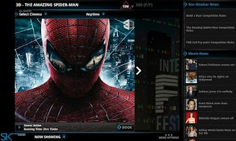 Screenshot of Ster-Kinekor Tablet