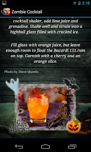 Halloween Drink Recipes - screenshot