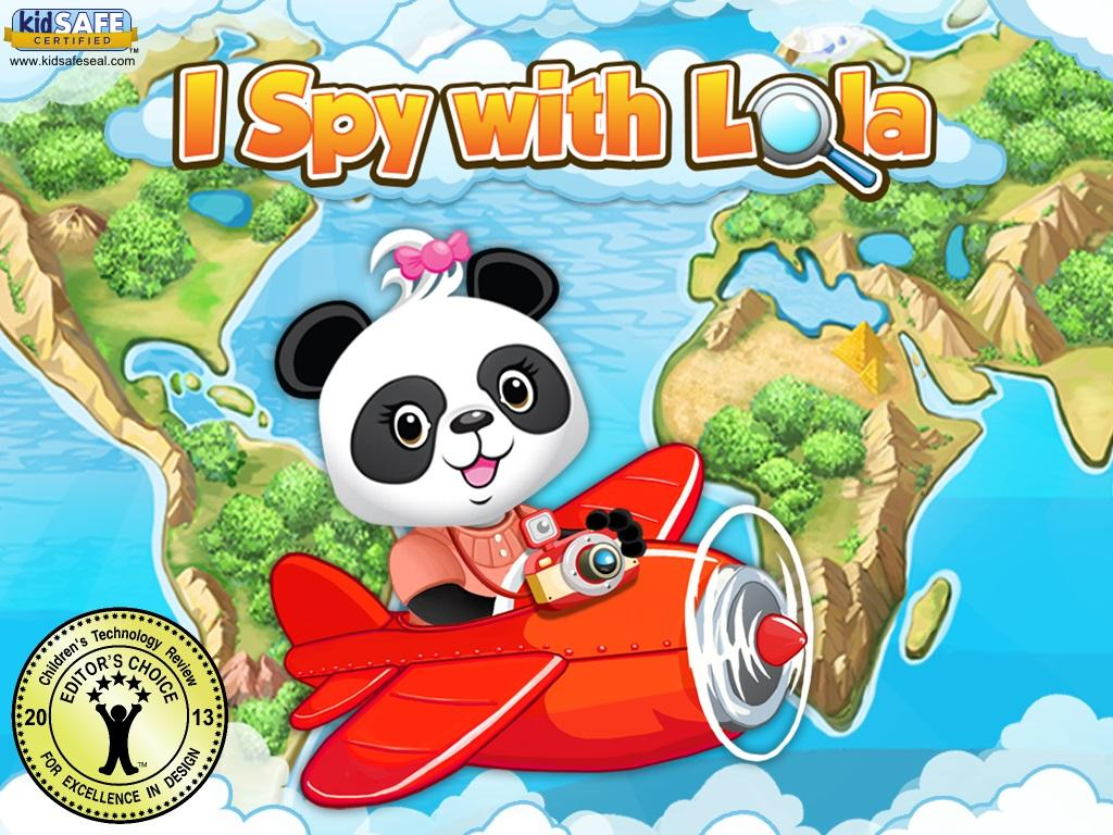I Spy With Lola: Fun Word Game Screenshot 0