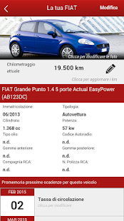 Concessionaria Fiat Pavan - screenshot