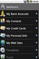 Screenshot of SecForms Lite