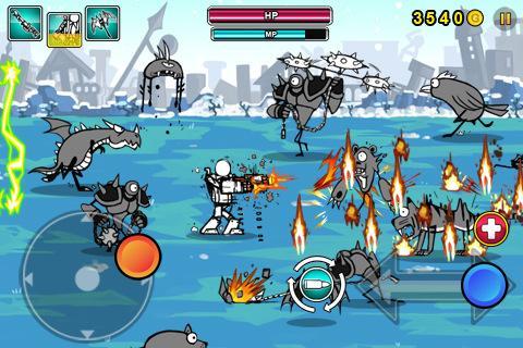 Cartoon Wars: Gunner+ - screenshot
