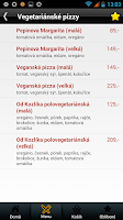 Screenshot of Pepinova pizza