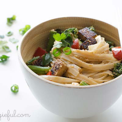 Vegan Thai Coconut Noodles
