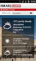 Screenshot of Israel Hayom English