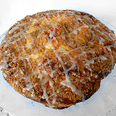 Rich Coffeecake with Sweet Cheese Filling