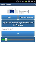 Screenshot of Studio Europa