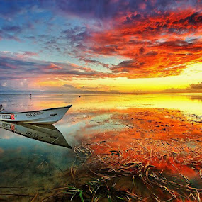 Angry Sky by Agoes Antara - Landscapes Sunsets & Sunrises