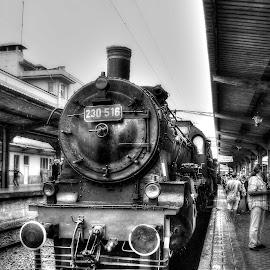 All aboard! by Bogdan Berbec - Transportation Trains