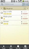 Screenshot of Schedule St.(Free Day Planner)
