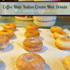 #Coffee Mate Italian Cream Mini #Donuts