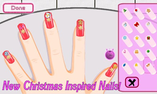 A list girl christmas nails apk 1 3 4 free casual for A list nail salon game