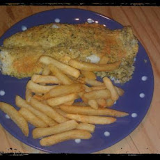 Parmesan Crusted Fish Fillets OAMC