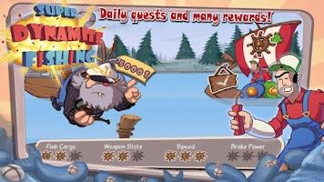 Screenshot of Super Dynamite Fishing