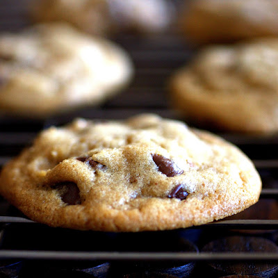 Crispy, Chewy Chocolate Chip Cookies
