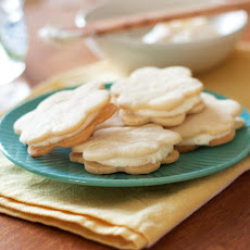 Lemon Sandwich Cookies with Triple Citrus Filing